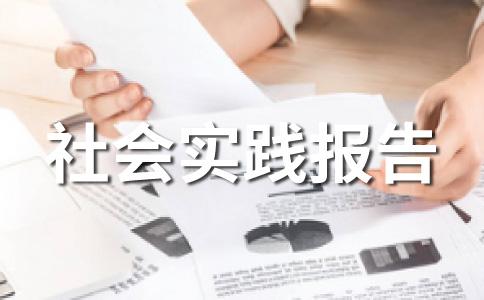大学生暑期实习范文